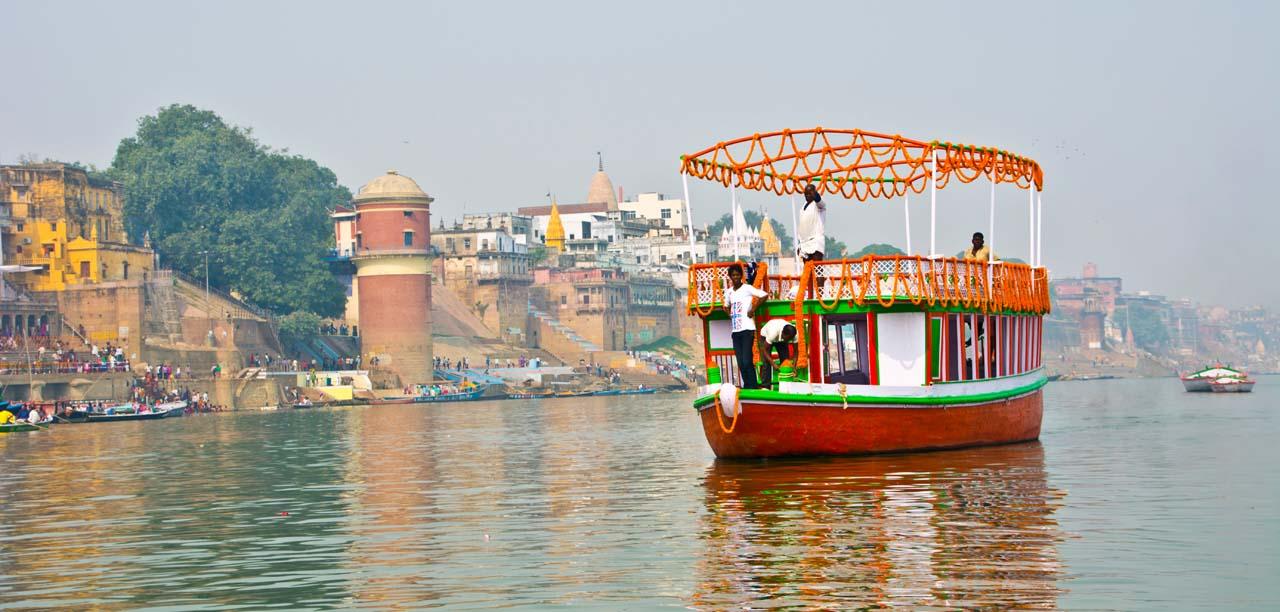 Dev Deepawali in Varanasi boats