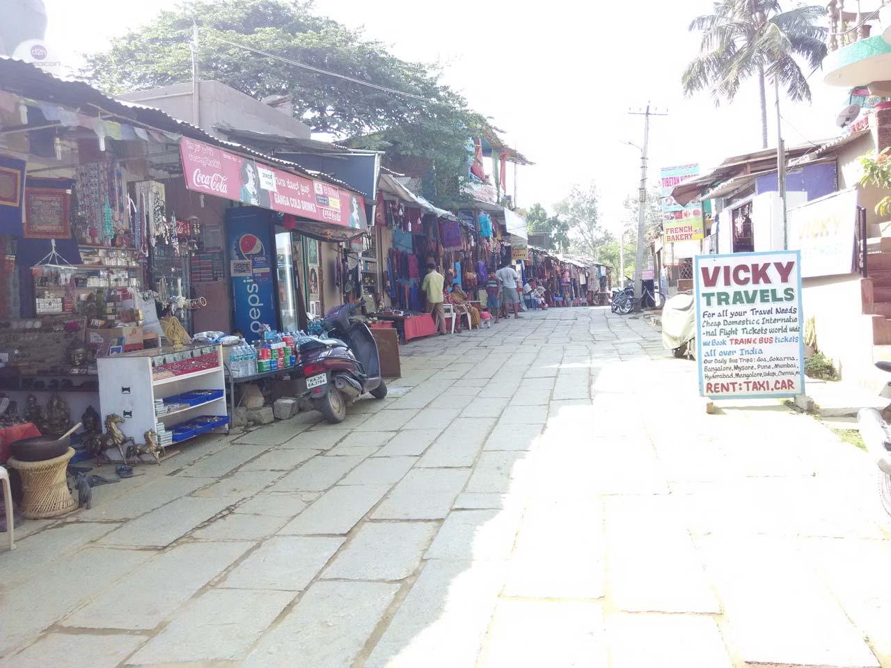 Market Hampi Village