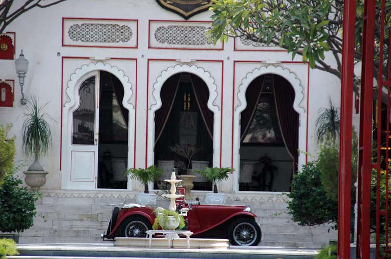 City palace inside