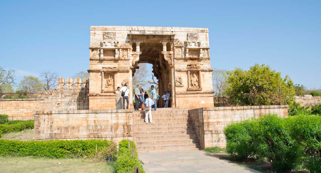 Chittorgarh fort complex gate