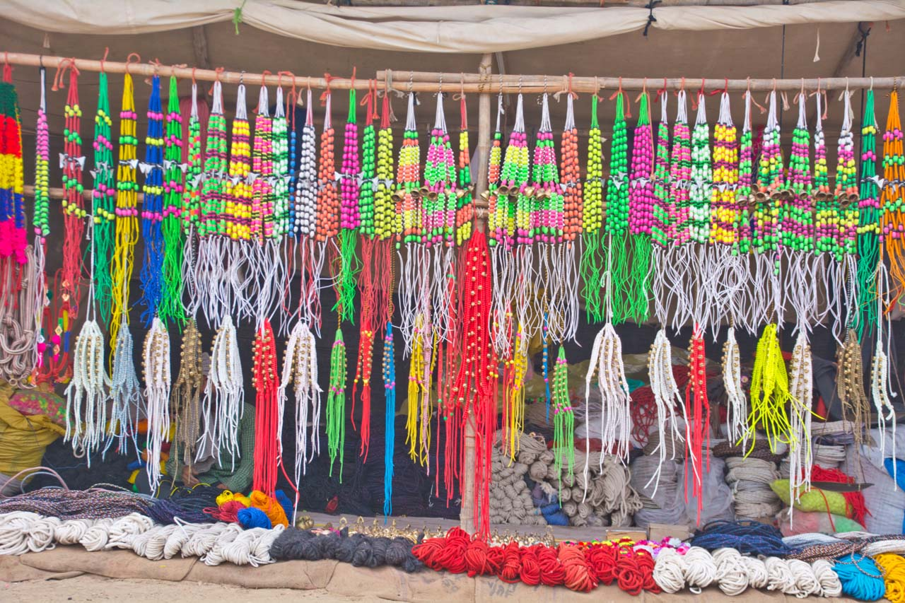 Pushkar camel fair market