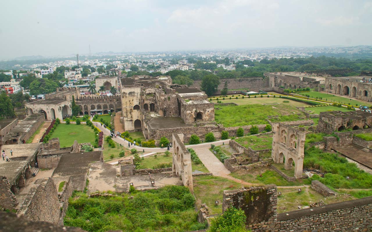 23 golconda fort Hyderabad