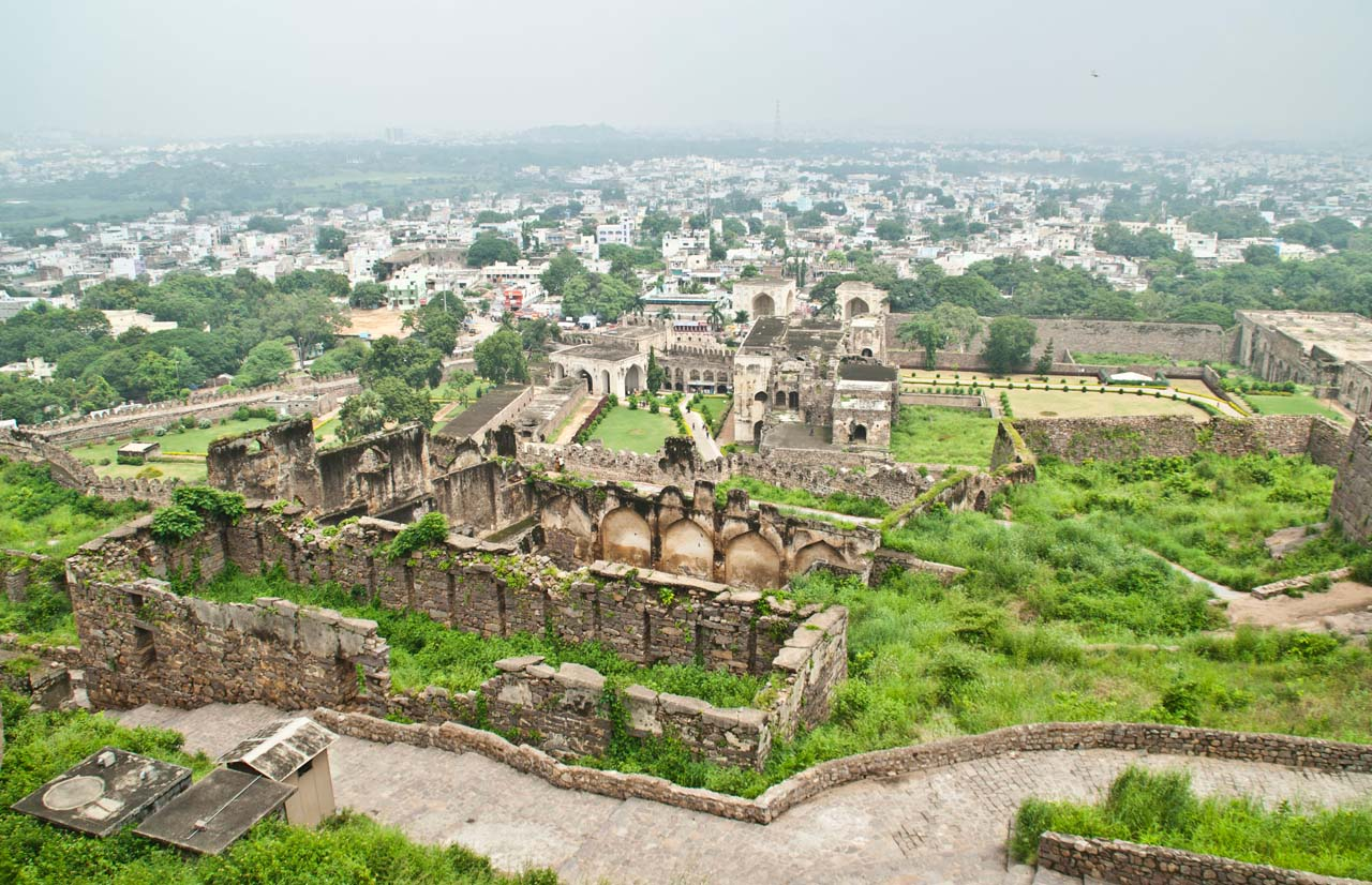 31 golconda fort Hyderabad