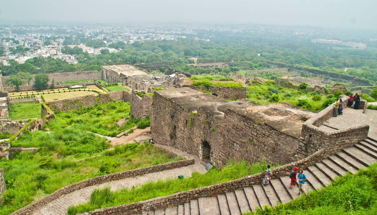 32 golconda fort Hyderabad