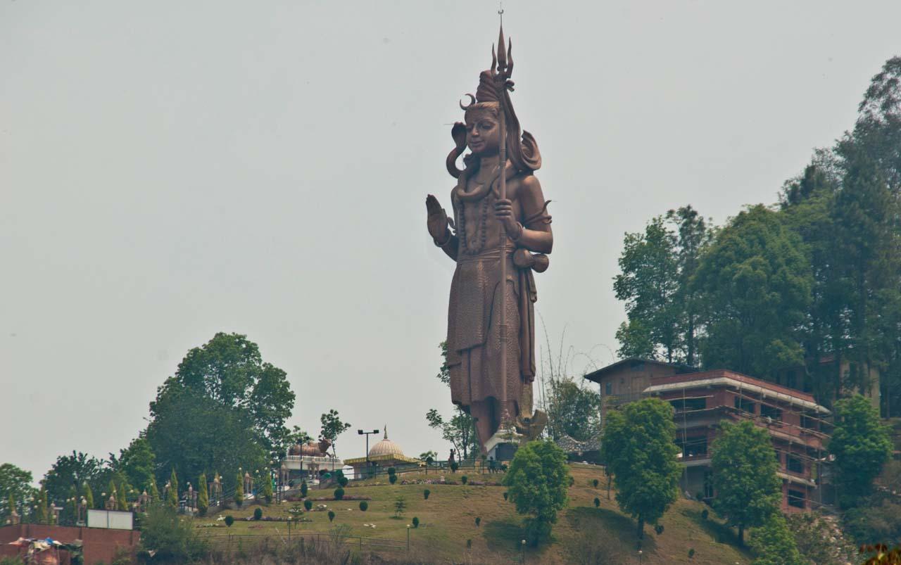 Kailash Mahadev statue near Kathmandu Nepal
