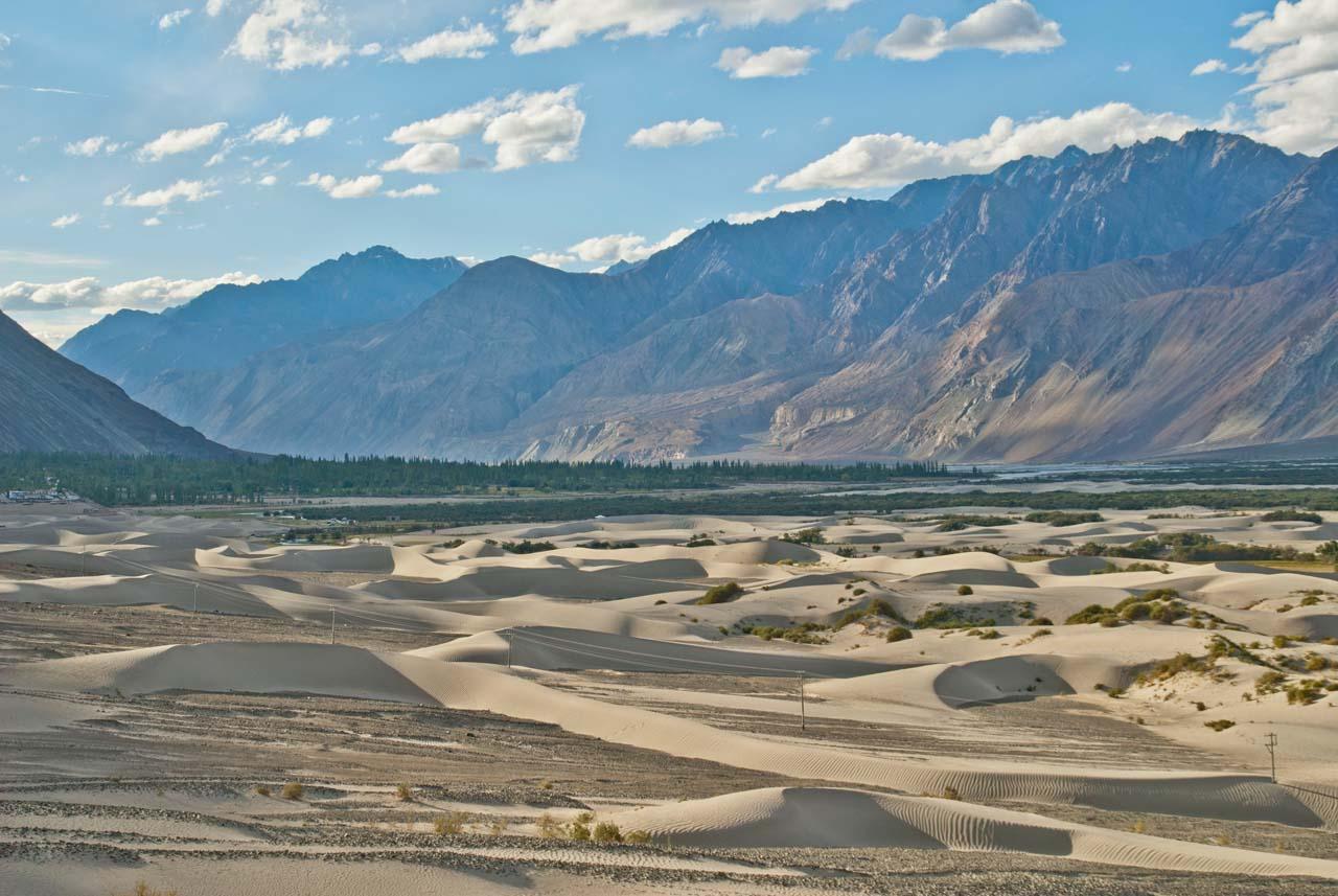 Hundar Most Beautiful Places in India