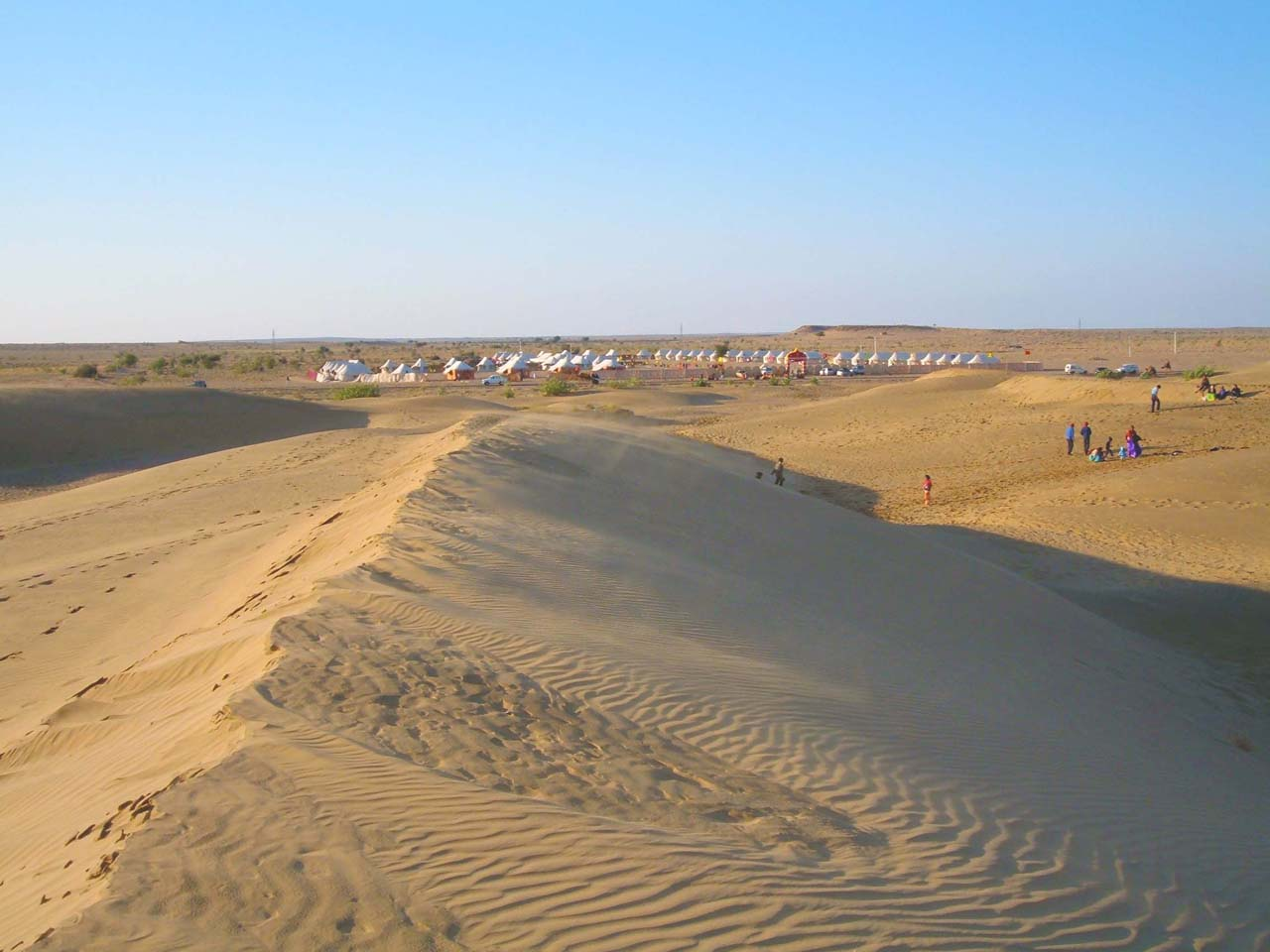 Jaisalmer dunes Most Beautiful Places in India