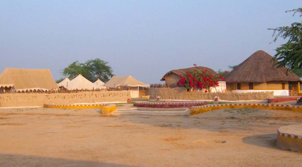 Resort overview Shaam-e-Sarhad Village Resort Kutch Gujarat
