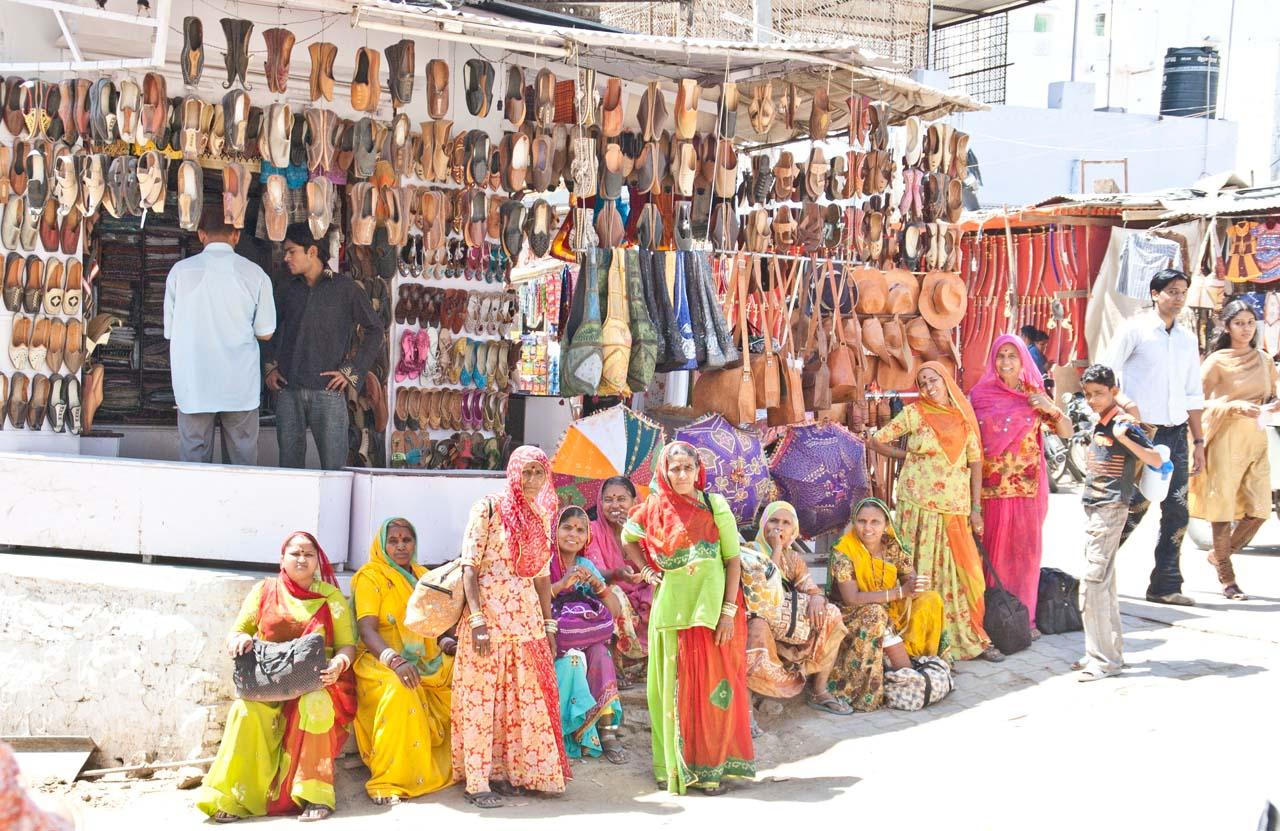 Pushkar market