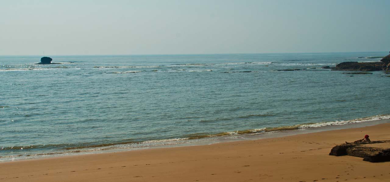 Jallandhar Beach Diu overview