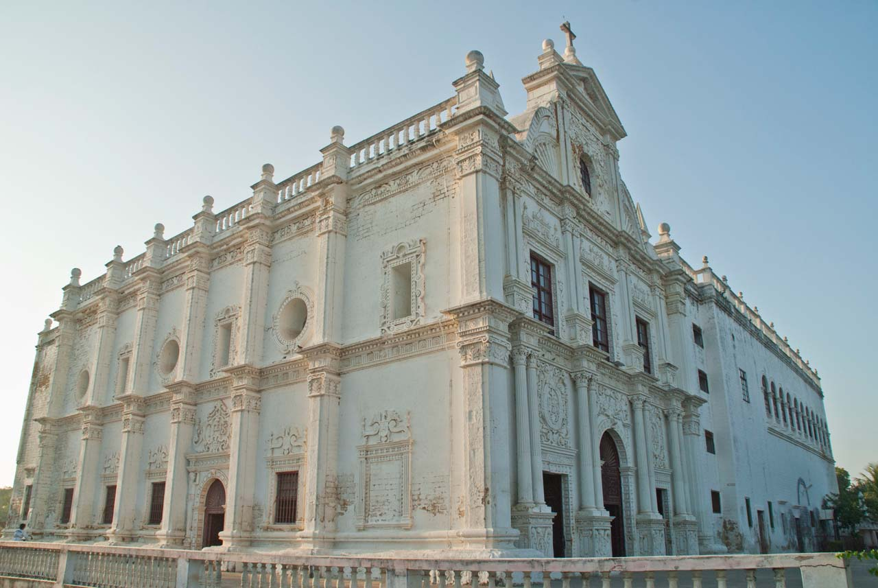 St Paul Church Diu exterior