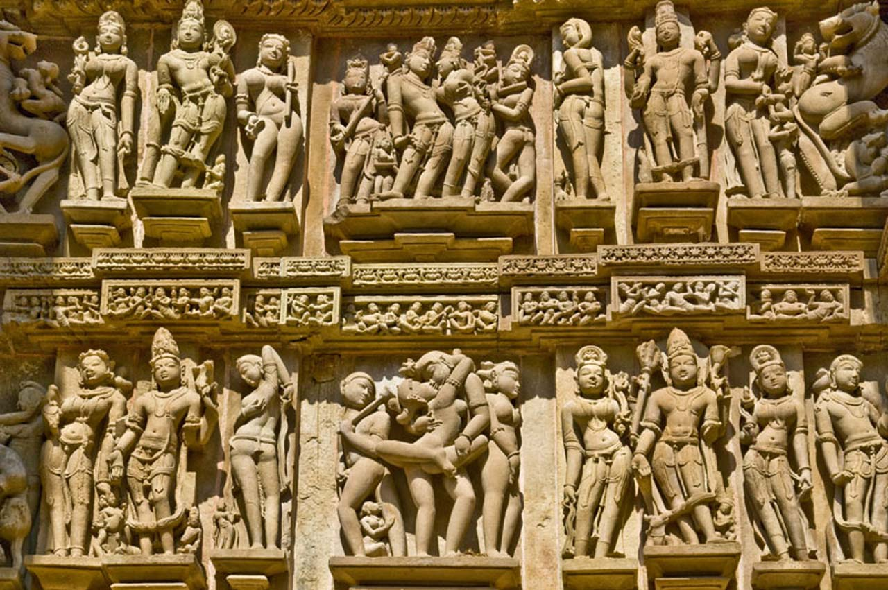 Pictures from India - Khajuraho Temples