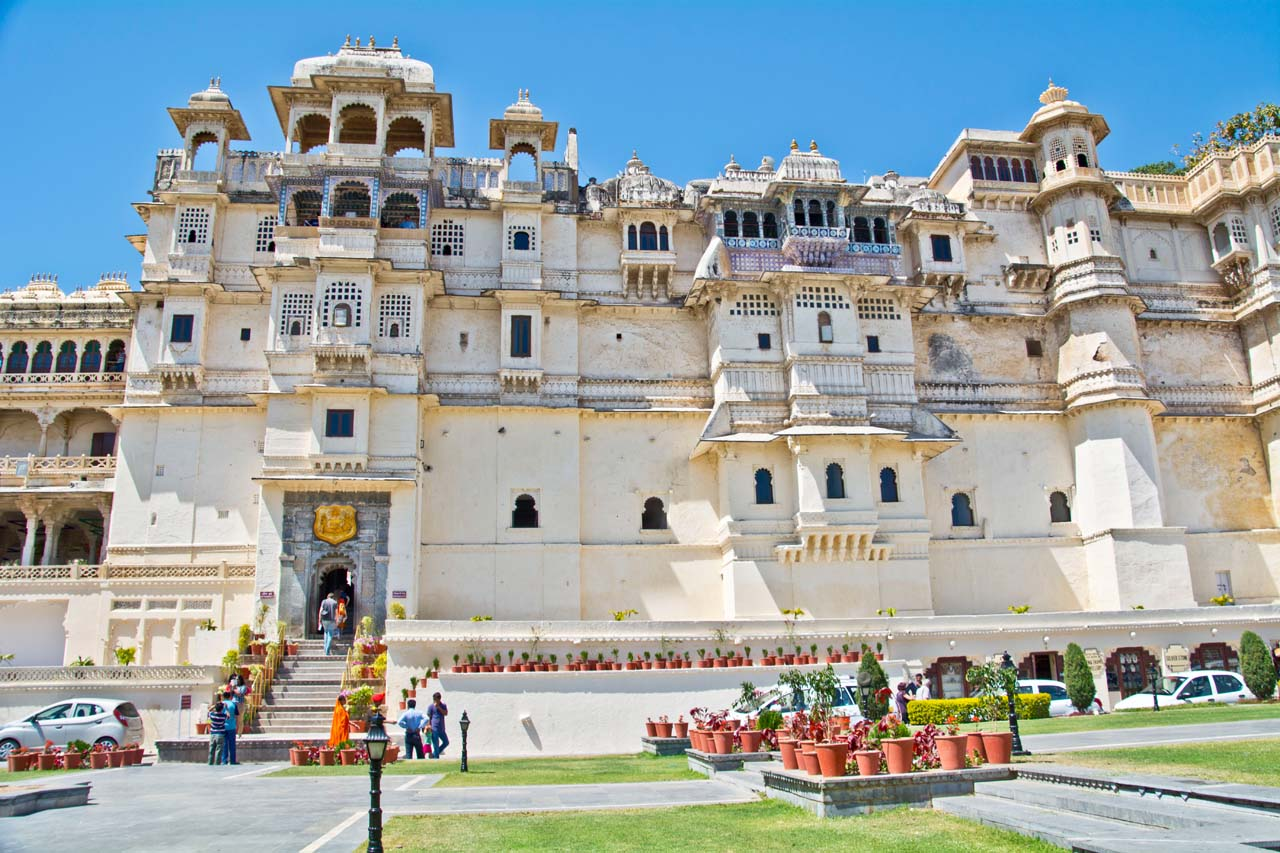 Pictures from India - City Palace Udaipur