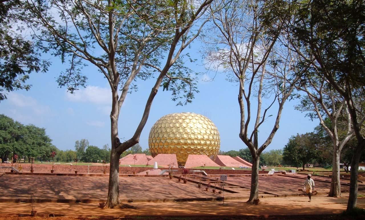 Pictures from India - Matrimandir Pondicherry