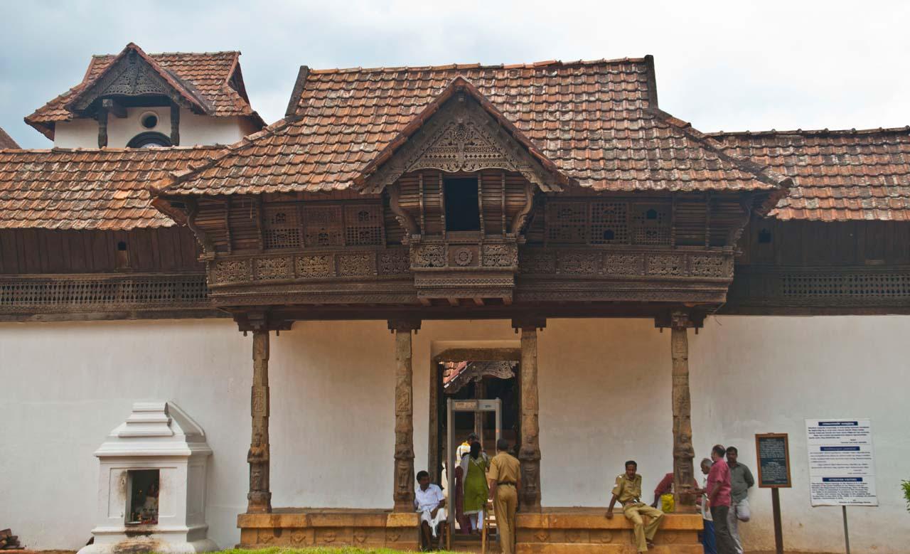 Padmanabhapuram Palace entry gate