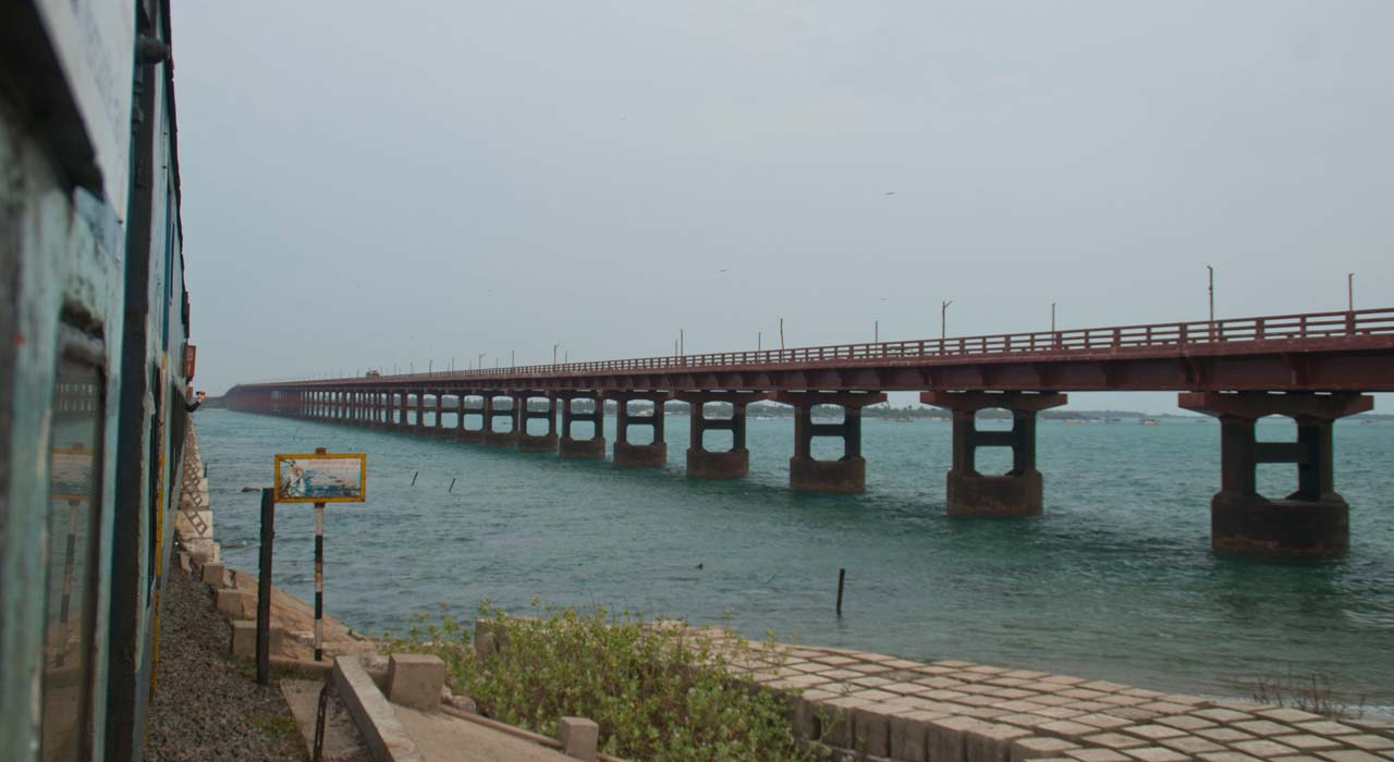 Annai Indira Gandhi Road Bridge Rameshwaram