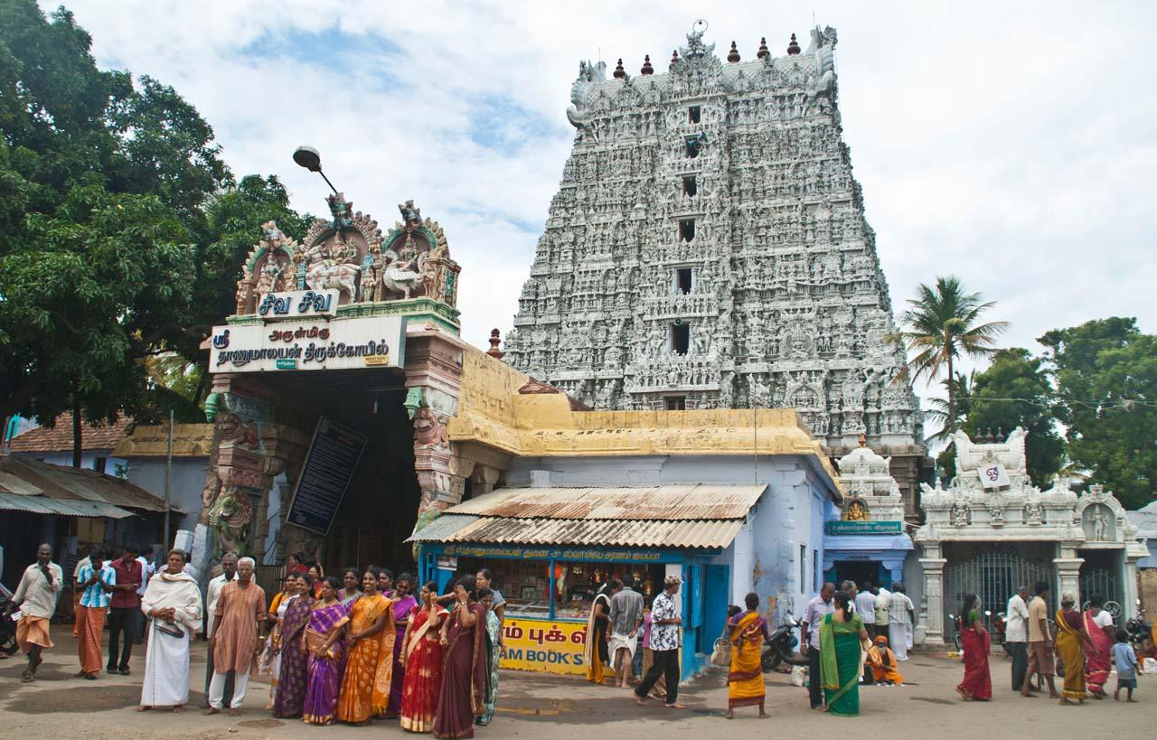 Suchindrum temple Kanyakumari