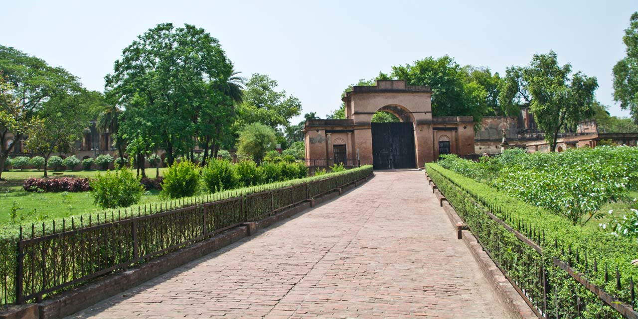 The residency Lucknow ruins