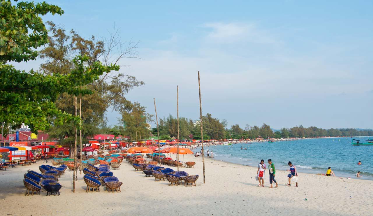 Serendipity beach Cambodia