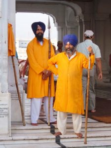 The Golden temple Amritsar Volenteers