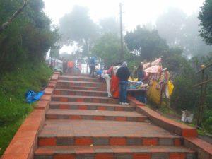 Doddabetta Peak Ooty stairs
