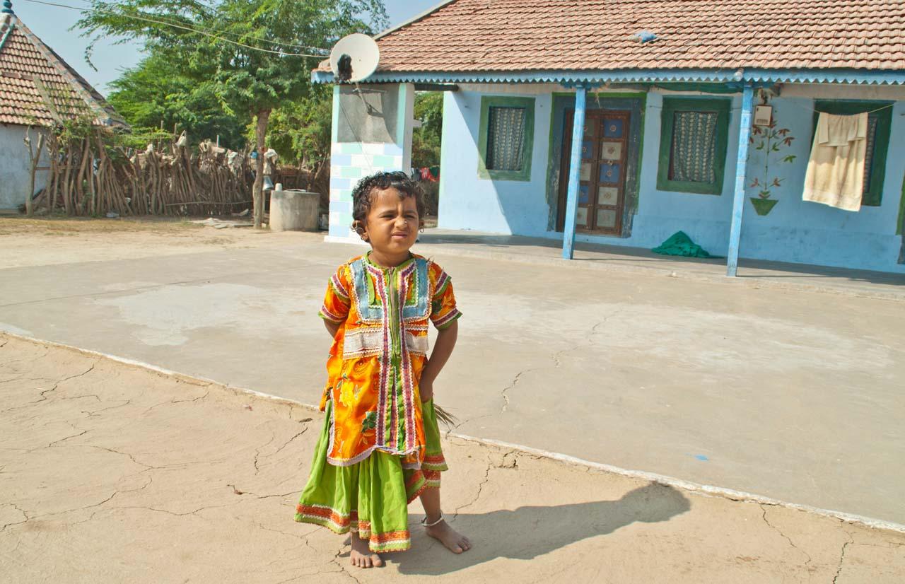 Child in Hodka Village