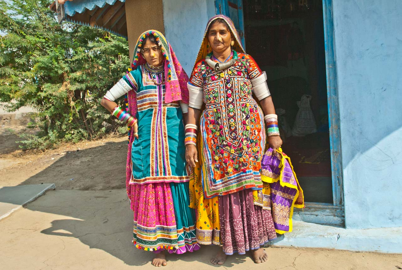 Local women in Hodka Village