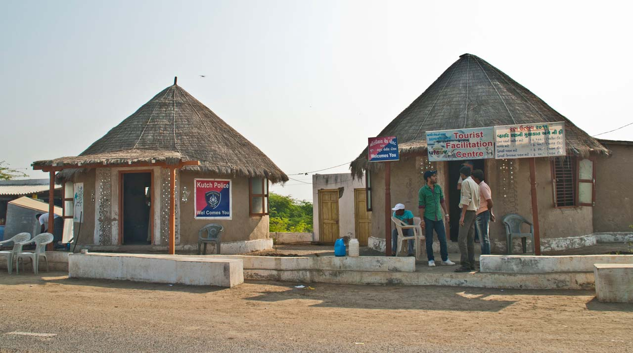 Permit office of Rann of Kutch