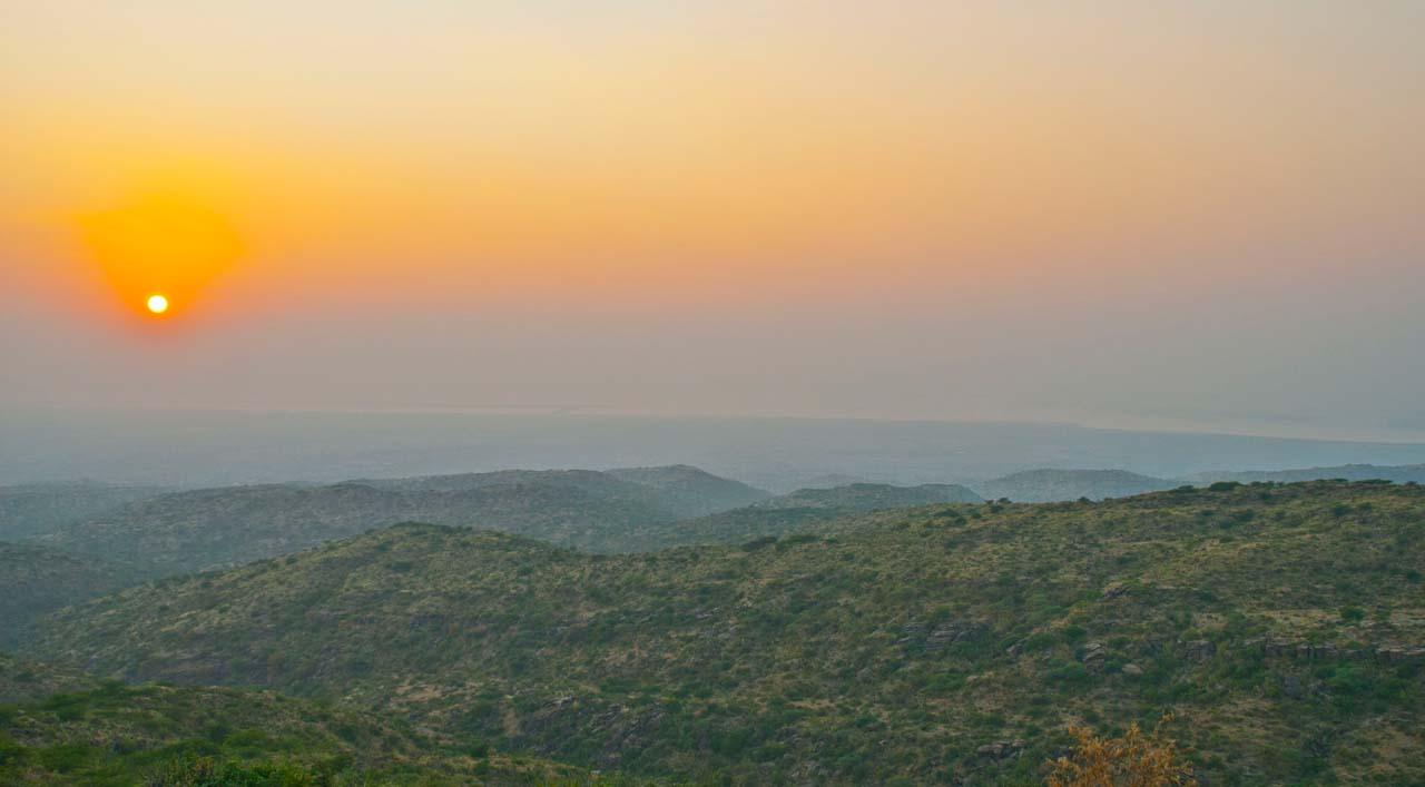 Sunset from Kalo Dungar