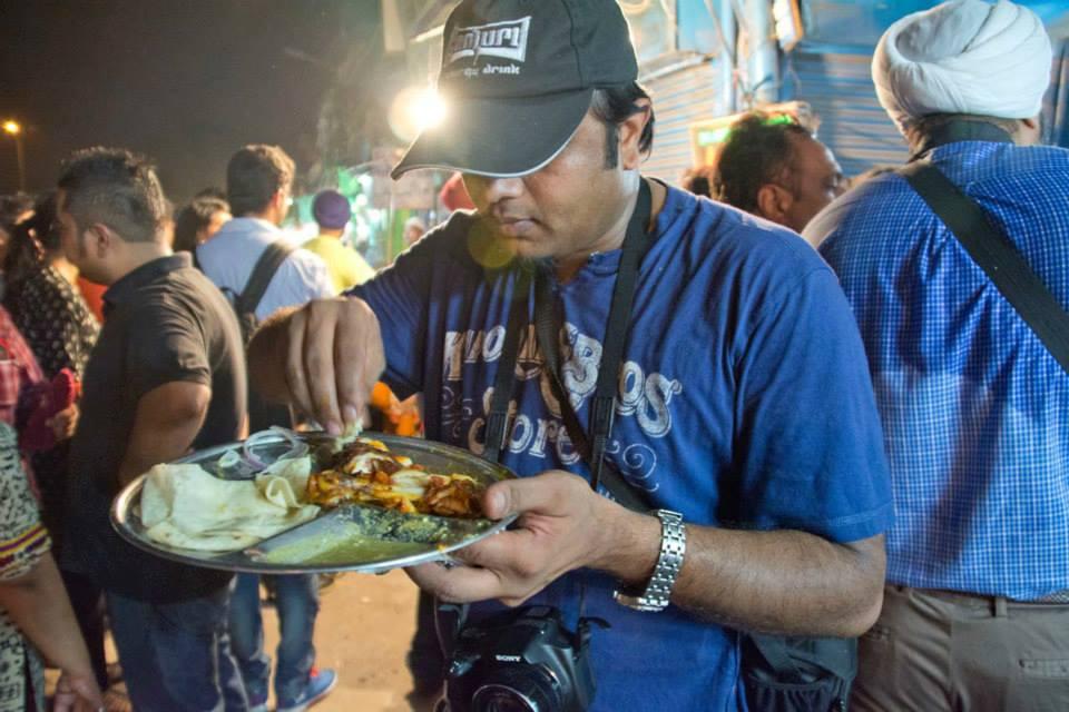 Food in Old Delhi