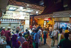 Karim restaurant in old Delhi