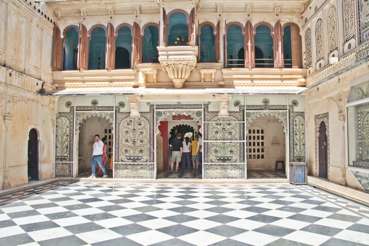 Inside of city palace