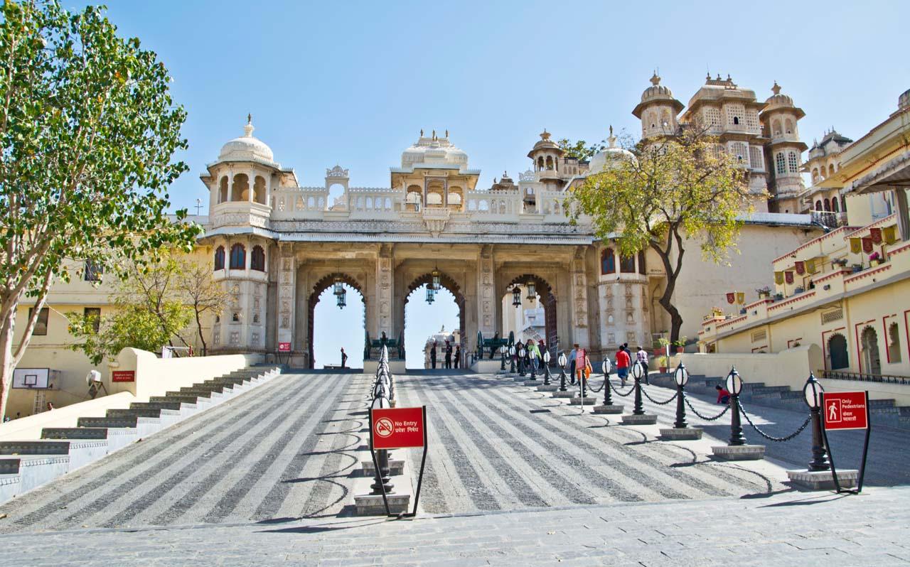 City palace entry