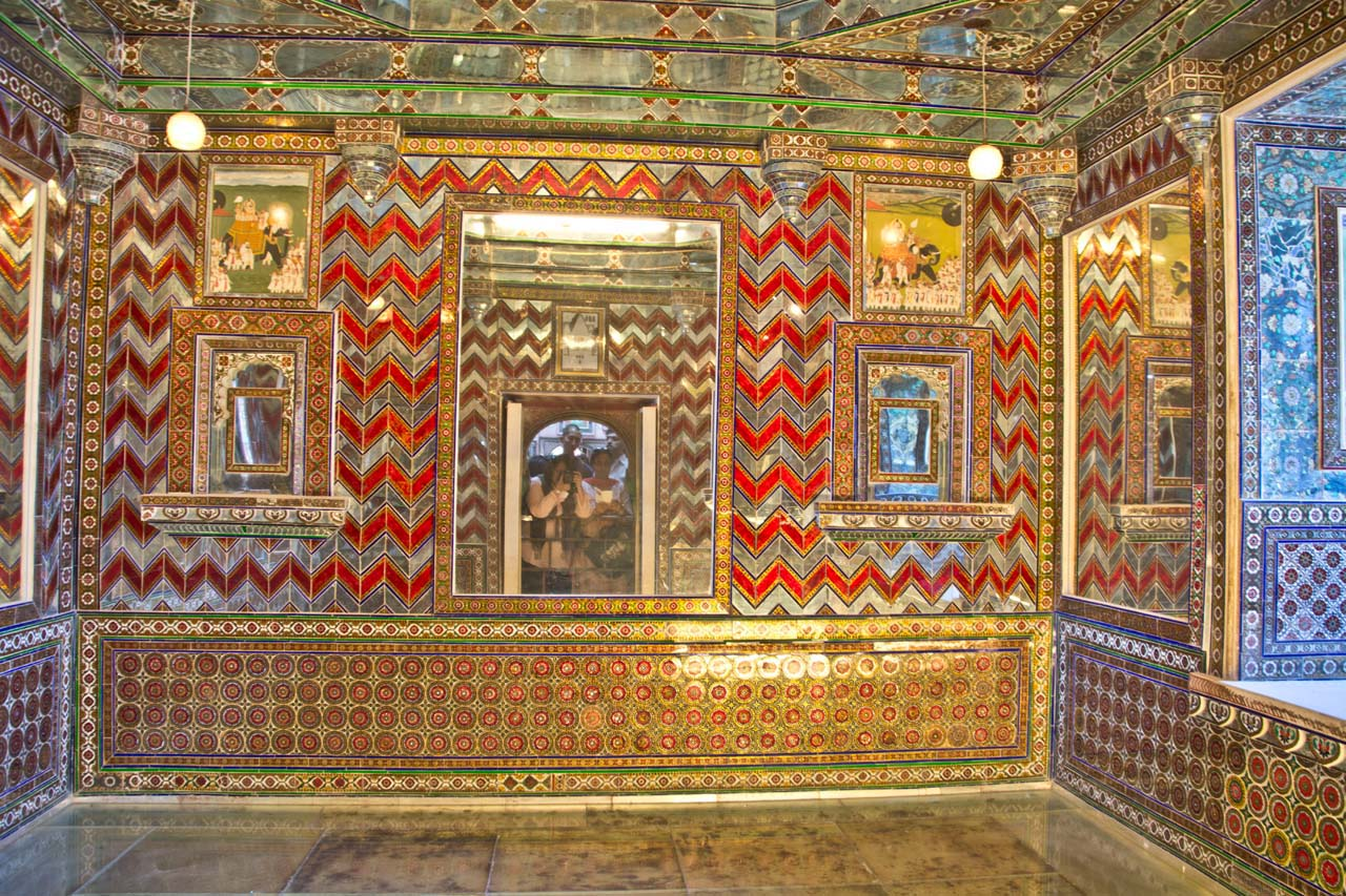 City palace glass room Udaipur