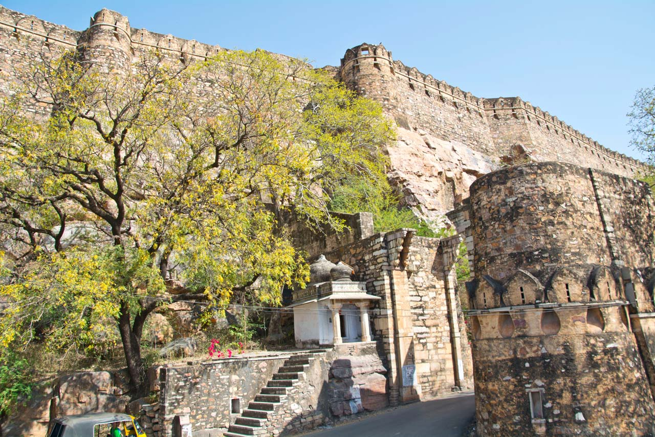Chittorgarh fort walls