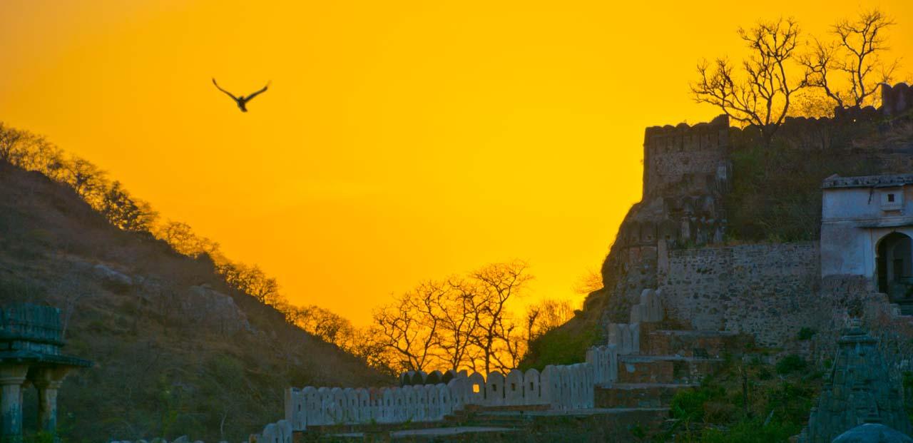 Kumbhalgarh sunset