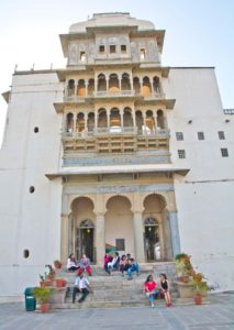 Inside of Monsoon palace Udaipur