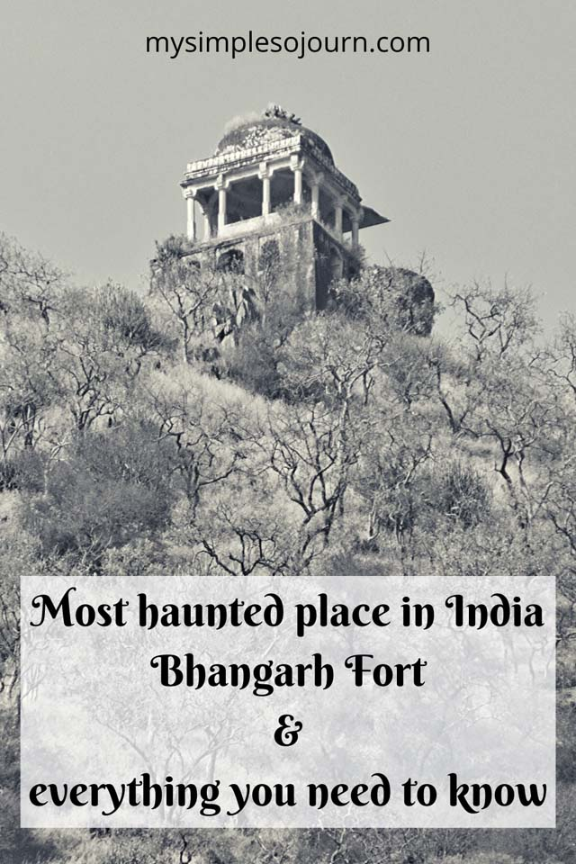 Bhangarh Fort's ghost stories and my experience #travel #rajasthan #bhangarhfort #hauntedfort