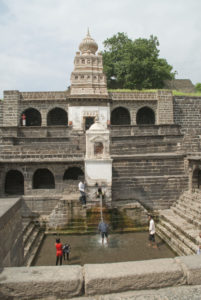 Temple at Lonar Crater Aurangabad
