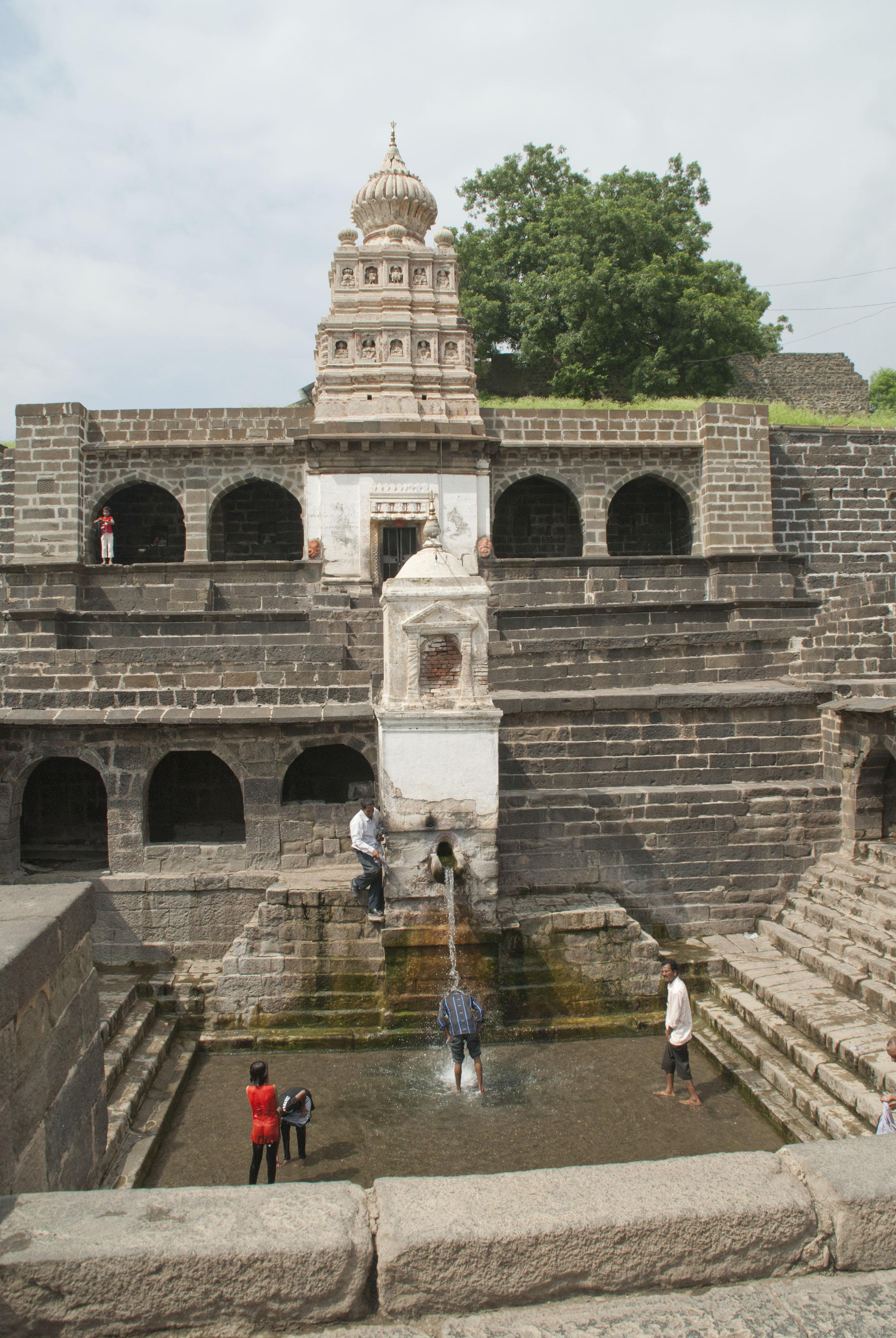 Temple at Lonar Crater Aurangabad