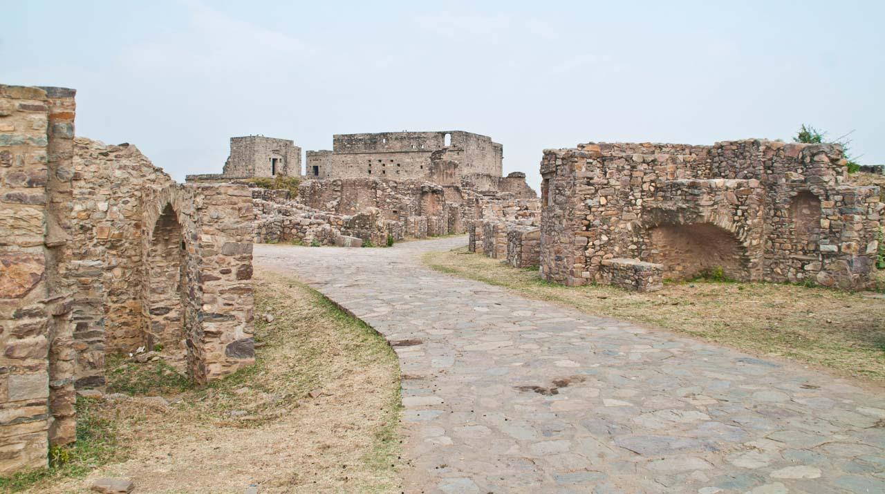 Bhangarh fort ruins