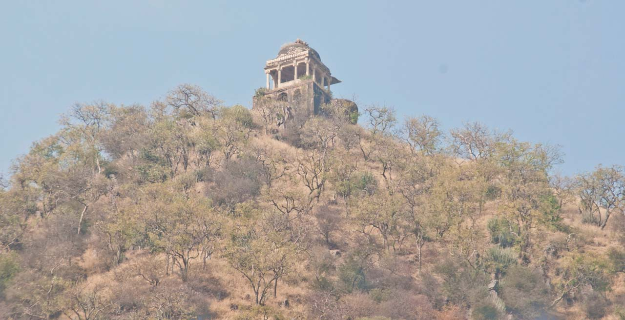 Tantric place in Bhangarh fort