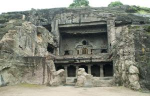 Ellora cave gate