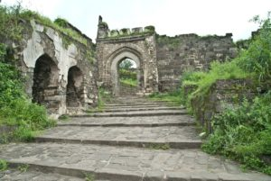Gate of Daultabad fort Aurangabad