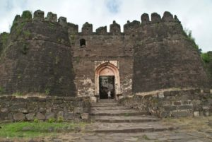 Gate of Daultabad fort Aurangabad