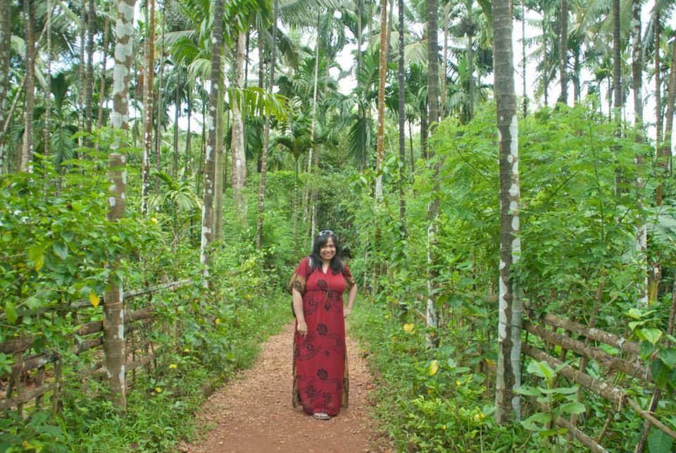 Me in spice Plantation
