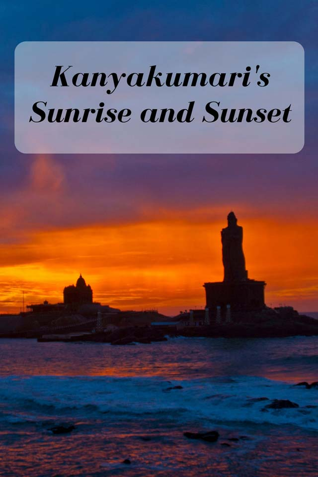 Kanyakumari Sunrise and Sunset