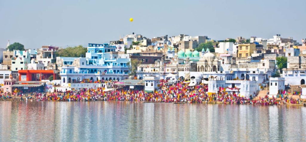 Pushkar lake ghat