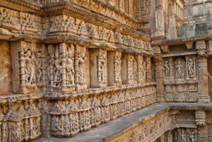 Sculptures on walls of Rani ki Vav Patan