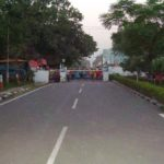 People at Attari Border post